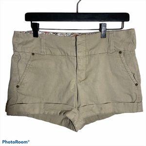 One 5 One khaki shorts size 6